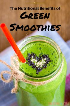 The nutritional benefits of green smoothies are numerous. Green smoothies improve your nutritional density of your caloric intake. click now for more info. Healthy Green Smoothies, Green Smoothie Recipes, Healthy Juices, Fruit Smoothies, Healthy Snacks, Healthy Recipes, Healthy Drinks, Clean Smoothie, Detox Smoothies