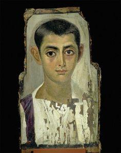 Retrato romano de El Fayun