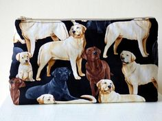 Labrador Wash Bag Toiletry Bag Beauty Bag Labrador