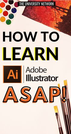 Here are resources that can help you learn Adobe Illustrator ASAP! Graphic Design Lessons, Graphic Design Tutorials, Graphic Design Inspiration, Graphic Projects, Adobe Illustrator Tutorials, Photoshop Illustrator, Learn Illustrator, Inkscape Tutorials, Effects Photoshop
