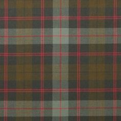 Guthrie Weathered Lightweight Tartan by the meter – Tartan Shop
