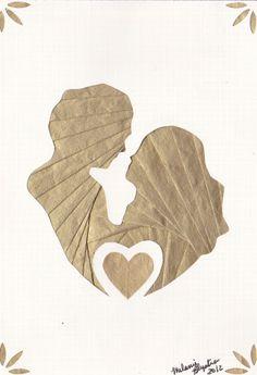 Iris folded couple