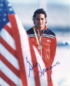 Greg Louganis - (1960 - ) Diver, author - Olympic Diver won 4 Gold Medals at 1984 7 1988 Olympics and 5 Gold at World Championships plus many others