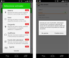 Apps para automatizar Android