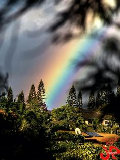 Rainbow, Makawao Maui by JP Rainbow Magic, Rainbow Sky, Over The Rainbow, Makawao Maui, Aurora, Rainbow Promise, Rainbow Waterfall, Fuerza Natural, Mother Images
