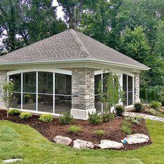 Backyard Pavilion - contemporary - patio - st louis - Mosby Building Arts