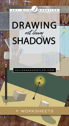 Complete tutorial to draw shadows. Both natural and artificial light sources.