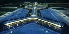 Sordo Madaleno & Pascall+Watson Present their proposal for New Mexico City Airport