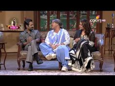 Huma Qureshi & Nawazzudin Siddiqui with Dadi | Kapil Sharma Video Website