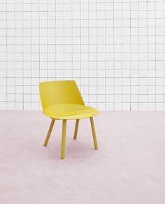 #chair #design #furniture #yellow