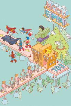 Enrolling Poster / NCCU EMA Program in Communication by KuoCheng Liao, via Behance