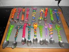 Knutsel met fimoklei, lepels, vorken en messen. Bekom zo het meest unieke bestek.