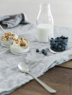Metervaran AINA i lin blir bara vackrare efter tvätt och användning. Ikea Breakfast, Hotel Breakfast, Pella Hedeby, Things Organized Neatly, Ikea Interior, Decorating Blogs, Food Styling, A Table, Food Photography