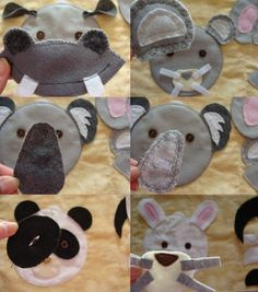 animal face page