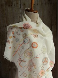 """Les simples"" scarf 