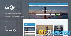 Listify v1.0.7  WordPress Directory Theme Free at DLEWordPRess