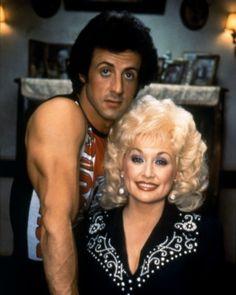Dolly Parton & Sylvester Stallone