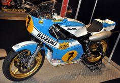 Suzuki #7 Barry Sheene by dennisgoodwin, via Flickr