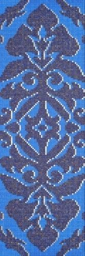 #Bisazza #Decori 1x1 cm Camee Blue | #Glass | on #bathroom39.com at 1304 Euro/box | #mosaic #bathroom #kitchen