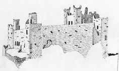 castle sketch - Google Search