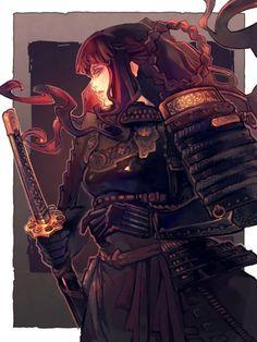 deviantart samurais mulheres - Pesquisa Google