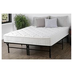 "$500  Spring iCoil 8"" Mattress and Deluxe Platform Bed Frame Set - Sleep Revolution : Target"