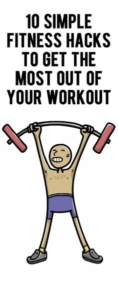 Ten life hacks to use during your next workout or weight lifting training session! #fitnesshacks #workout #exercise #lifehacks #totalbodytransformation