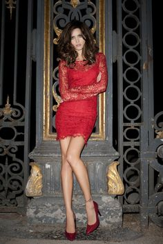 Isabeli Fontana by Terry Richardson for Mango Fall 2011