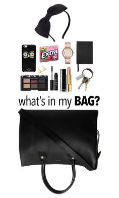 """""""what's in my bag....junk!"""" by divacrafts ❤ liked on Polyvore featuring Paul & Joe, NARS Cosmetics, Chanel, CB2, Kate Spade, Smythson, Marc by Marc Jacobs, ChloBo, Original and inmybag"""