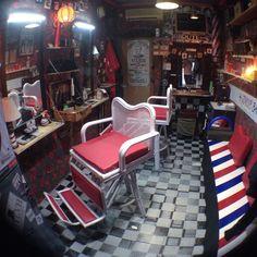 #JOYLVB #BarberChair #Ratan #Leather #Customade Create by Indrajaya Sanji