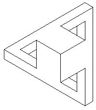 Черно-белые фигуры [691-700] - Невозможный мир✖️More Pins Like This One At FOSTERGINGER @ Pinterest✖️