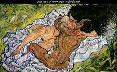 L'abbraccio - Egon Schiele  Poesia ispirata al quadro