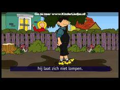 ▶ Kinderliedjes van vroeger - Hannes loopt op klompen - YouTube