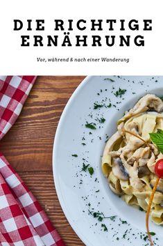 Richtig essen vor, während und nach einer Wanderung.  #weitwandern #wandern #essen #tipps #berge #ernährung Cabbage, Vegetables, Food, Eat Right, Mountains, Hiking, Veggies, Vegetable Recipes, Meals