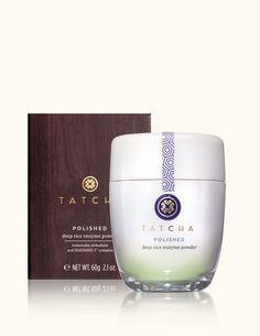 Tatcha POLISHED Deep Rice Enzyme Powder  www.tatcha.com