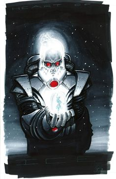 Mr Freeze by Adam Whiters Gives me chills! Brrrrrrr!