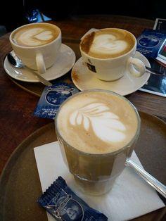 Lekkere espresso's! echte meesterwerken!