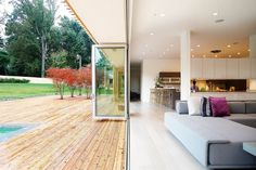 This Lovely Contemporary Pad in Maryland Fuses Inside and Out - That's Rather Lovely - Curbed National