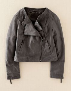 Every woman needs a good leather jacket