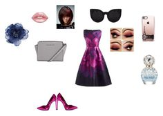 """""""What am I wearing in Paris?"""" by emilygracefashionista on Polyvore featuring Yves Saint Laurent, Marc Jacobs, Lime Crime, Casetify and Accessorize"""