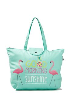 novelty tote bag, SUNSHINE