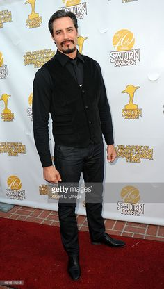 Actor Victor Webster arrives for the Annual Saturn Awards held at The Castaway on June 2014 in Burbank, California. Victor Webster, The Castaway, Burbank California, Good Looking Men, Gorgeous Men, Beards, Eye Candy, How To Look Better, June