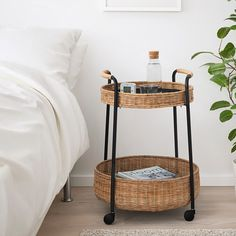 LUBBAN Rolltisch mit Aufbewahrung Rattan, anthrazit IKEA can be power associated with furniture and has Rattan Furniture, Handmade Furniture, Gladom Ikea, Trolley Table, Ikea Trolley, Catalogue Ikea, Home Design, Interior Design, Home Interior Accessories