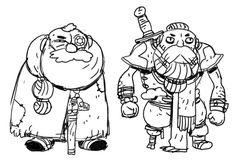 More dwarves. Scholar and Scrapper. Sam Bosma