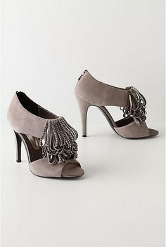 Anthropologie flapper heels, want want want!