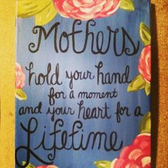 Home Decorating Style 2019 for Inspirational Diy Art Projects for Mothers Day, you can see Inspirational Diy Art Projects for Mothers Day and more pictures for Home Interior Designing 2019 at Home Us. Cute Canvas, Diy Canvas Art, Canvas Crafts, Canvas Ideas, Canvas Paintings, Canvas Canvas, Cute Crafts, Crafts To Make, Crafts For Kids