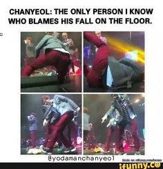 What do you expect from the happy virus who stopped aging from 5? #Chanyeol…