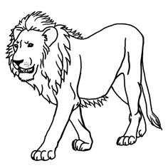 Lion Coloring Pages - Preschool and Kindergarten | Lions, Bandsaw ...