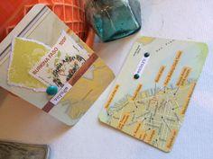 Travel themed cards for #carddeckswap by Jessica Brogan