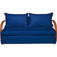 Fizz Fabric Sofa Bed - Blue.
